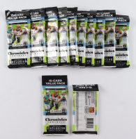 Lot of (12) 2020 Panini Chronicles Football Cello Pack with (15) Cards at PristineAuction.com