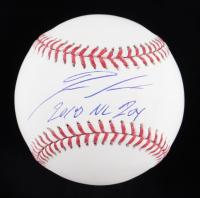"Ronald Acuna Jr. Signed OML Baseball Inscribed ""2010 NL ROY"" (Beckett Hologram) at PristineAuction.com"