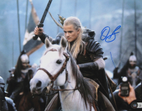 """Orlando Bloom Signed """"The Lord of The Rings"""" 11x14 Photo (Beckett Hologram) (See Description) at PristineAuction.com"""