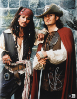 """Orlando Bloom Signed """"Pirates of the Caribbean"""" 11x14 Photo (Beckett Hologram) at PristineAuction.com"""