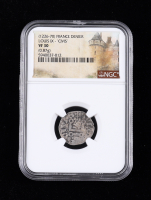 """Philip IX (1226-1270) France Denier """"Civis"""" Medieval Silver Coin (NGC VF30) at PristineAuction.com"""