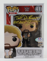 "Ted DiBiase Signed WWE #41 Million Dollar Man Funko Pop! Vinyl Figures Inscribed ""HOF 2010 $"" (PSA COA) at PristineAuction.com"