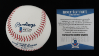 Manny Machado Signed OML Baseball (Beckett COA) at PristineAuction.com