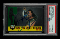 """Jake """"The Snake"""" Roberts Signed 2005 Topps Heritage WWE #79 L (PSA Encapsulated) at PristineAuction.com"""