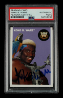 Koko B. Ware Signed 2006 Topps Heritage II WWE #82 L (PSA Encapsulated) at PristineAuction.com