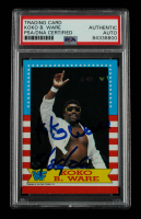 """Koko B. Ware Signed 1987 Topps WWF #5 Inscribed """"5/26/06"""" (PSA Encapsulated) at PristineAuction.com"""