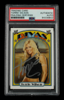 Torrie Wilson Signed 2006 Topps Heritage II WWE #60 DV (PSA Encapsulated) at PristineAuction.com