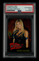 Torrie Wilson Signed 2005 Topps Heritage WWE #61 DV (PSA Encapsulated) at PristineAuction.com