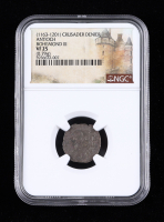 Bohemond III (1163-1188 AD) Antioch Silver Denier of the Medieval Crusades (NGC VF25) at PristineAuction.com
