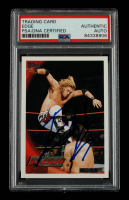 Edge Signed 2010 Topps WWE #58 (PSA Encapsulated) at PristineAuction.com