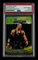 Kevin Nash Signed 2003 Fleer WWE Aggression #19 (PSA Encapsulated) at PristineAuction.com