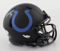 Parris Campbell Signed Colts Eclipse Alternate Speed Mini Helmet (Beckett COA) at PristineAuction.com