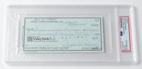 Joe DiMaggio Signed 1981 Personal Bank Check (PSA Encapsulated) at PristineAuction.com