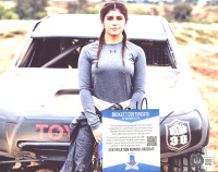 Hailie Deegan Signed NASCAR 8x10 Photo (Beckett COA) at PristineAuction.com