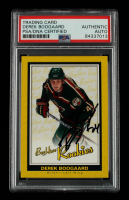 Derek Boogaard Signed 2005-06 Beehive #93 RC (PSA Encapsulated) at PristineAuction.com