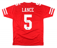Trey Lance Signed Jersey (Beckett Hologram) at PristineAuction.com