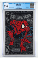 """1990 """"Spiderman: The Legend Of The Arachknight"""" Issue #1 Silver Edition Marvel First Issue Comic Book (CGC 9.6) at PristineAuction.com"""