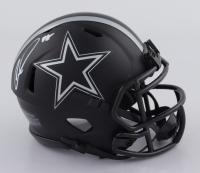 CeeDee Lamb Signed Cowboys Eclipse Alternate Speed Mini-Helmet (Fanatics Hologram) at PristineAuction.com