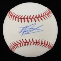 Gregory Polanco Signed OML Baseball (Fanatics Hologram & MLB Hologram) at PristineAuction.com