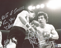 """Ray """"Boom Boom"""" Mancini Signed 8x10 Photo Inscribed """"Best Of Success For You Champ"""" & """"God Bless"""" (Beckett COA) at PristineAuction.com"""
