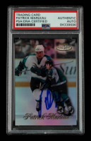 Patrick Marleau Signed 1998-99 Topps Gold Label Class 1 #94 (PSA Encapsulated) at PristineAuction.com