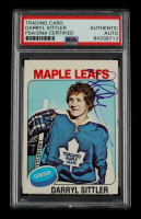 Darryl Sittler Signed 1975-76 O-Pee-Chee #150 (PSA Encapsulated) at PristineAuction.com