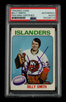 Billy Smith Signed 1975-76 O-Pee-Chee #372 (PSA Encapsulated) at PristineAuction.com