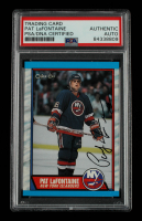 Pat LaFontaine Signed 1989-90 O-Pee-Chee #60 (PSA Encapsulated) at PristineAuction.com
