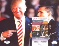 """Michael T. Flynn Signed 8x10 Photo Inscribed """"LTG(R)"""" & """"Go Get'm!!!"""" (JSA COA & PSA Hologram) at PristineAuction.com"""