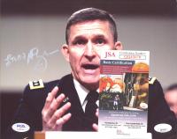 "Michael T. Flynn Signed 8x10 Photo Inscribed ""LTG(R)"" (JSA COA & PSA Hologram) at PristineAuction.com"