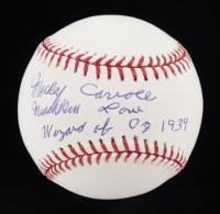 "Mickey Carroll Signed OML Baseball Inscribed ""Munchkin Love"" & ""Wizard of Oz 1939"" (JSA COA) at PristineAuction.com"