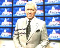 "Alex Trebek Signed ""Jeopardy!"" 8x10 Photo Inscribed ""All The Best"" (JSA COA & PSA Hologram) at PristineAuction.com"