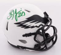 Brian Dawkins Signed Eagles Lunar Eclipse Alternate Speed Mini Helmet (Beckett COA) at PristineAuction.com