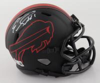 Emmanuel Sanders Signed Bills Eclipse Alternate Speed Mini Helmet (Beckett Hologram) at PristineAuction.com