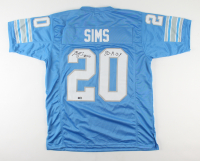 """Billy Sims Signed Jersey Inscribed """"80-R.O.Y"""" (TriStar Hologram) at PristineAuction.com"""