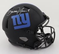 Daniel Jones Signed Giants Full-Size Eclipse Alternate Speed Helmet (JSA COA) at PristineAuction.com