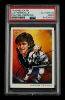 Luc Robitaille Signed 1992-93 Upper Deck #8 TC (PSA Encapsulated) at PristineAuction.com