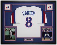 Gary Carter Signed 35x43 Custom Framed Jersey Display (JSA COA) at PristineAuction.com