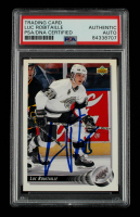 Luc Robitaille Signed 1992-93 Upper Deck #216 (PSA Encapsulated) at PristineAuction.com