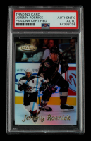 Jeremy Roenick Signed 1999-00 Topps Gold Label Class 1 #43 (PSA Encapsulated) at PristineAuction.com