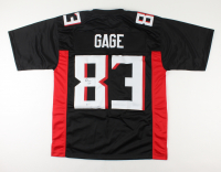 Russell Gage Signed Jersey (Beckett Hologram) at PristineAuction.com