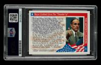 Rudy Giuliani Signed 2001 Enduring Freedom #40 Mayor Giuliani Gives The Thumbs Up (PSA Encapsulated) at PristineAuction.com