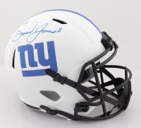 Daniel Jones Signed Giants Full-Size Lunar Eclipse Alternate Speed Helmet (JSA COA) at PristineAuction.com