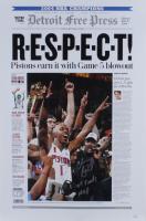 "Chauncey Billups Signed Pistons 16x24 Photo Inscribed ""'04 Finals MVP"" (JSA Hologram) at PristineAuction.com"