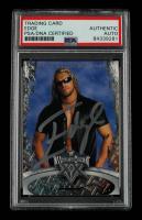 Edge Signed 2004 Fleer WWE WrestleMania XX #26 (PSA Encapsulated) at PristineAuction.com