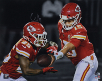 Clyde Edwards-Helaire Signed Chiefs 15.5x20 Photo (Beckett Hologram) at PristineAuction.com