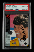Michael Waltrip Signed 1995 Upper Deck #209 (PSA Encapsulated) at PristineAuction.com