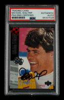 Michael Waltrip Signed 1994 Wheels High Gear #11 (PSA Encapsulated) at PristineAuction.com