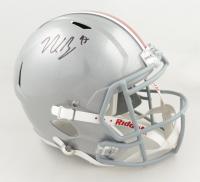 Nick Bosa Signed Ohio State Buckeyes Full-Size Speed Helmet (Beckett Hologram) at PristineAuction.com