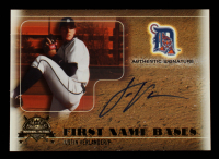 Justin Verlander 2005 National Pastime First Name Bases Autograph Gold #JV 094 / 149 at PristineAuction.com